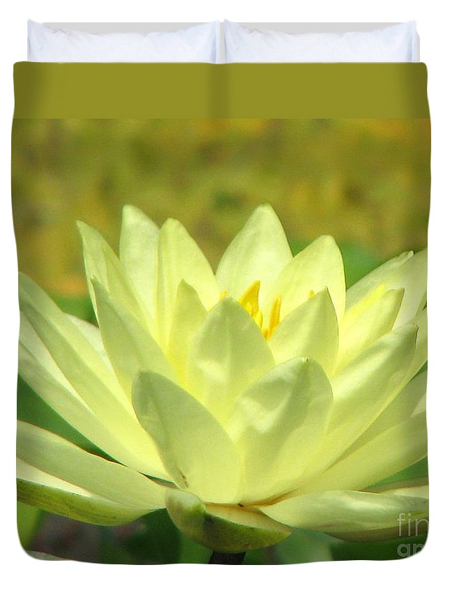 Lillypad Duvet Cover featuring the photograph Shades by Amanda Barcon