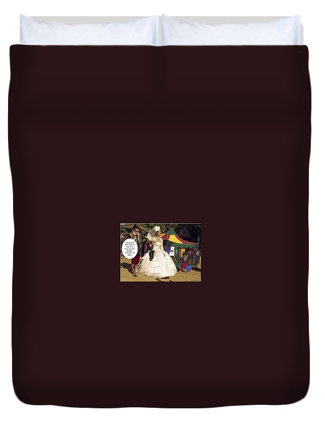 2d Duvet Cover featuring the photograph Shades by Brian Wallace