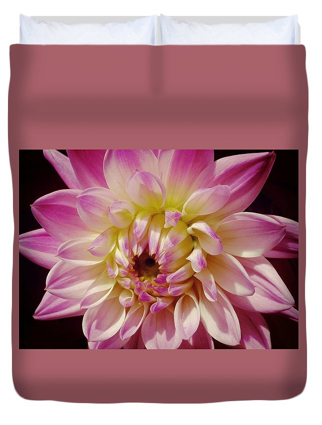 Nantucket Duvet Cover featuring the photograph Shades Of Pink by JAMART Photography