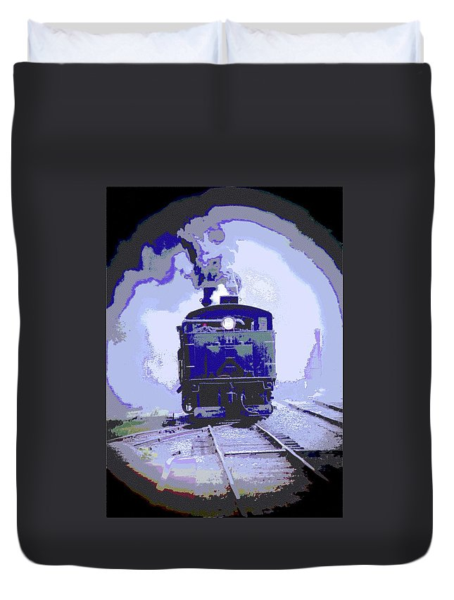 Cass Duvet Cover featuring the photograph Shay 11 O by Cathy Lindsey