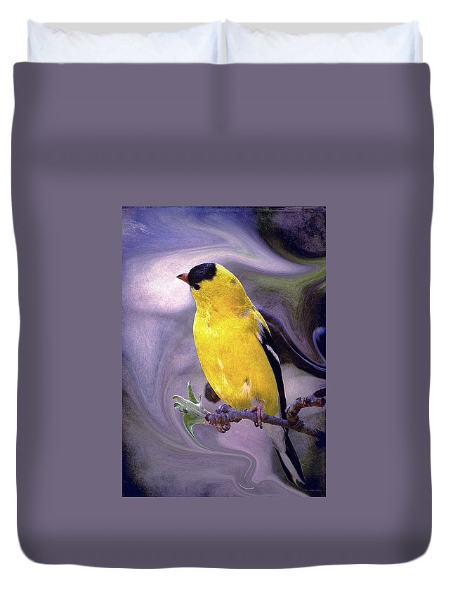 Enjoy Duvet Cover featuring the photograph She Enjoyed The Softness Of Twilight... by Arthur Miller