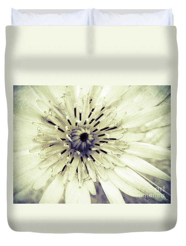 Flower Duvet Cover featuring the photograph She Wants To Be Beautiful by Tara Turner