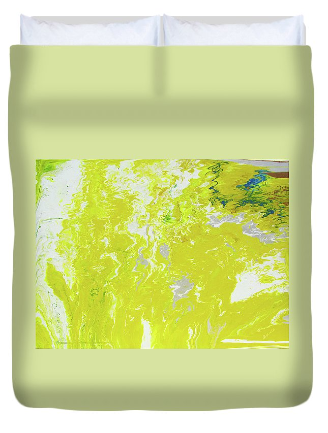Fusionart Duvet Cover featuring the painting Shine by Ralph White