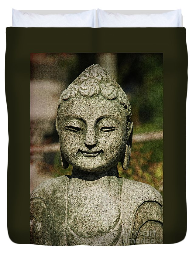 Shiva Duvet Cover featuring the photograph Shiva by Susanne Van Hulst