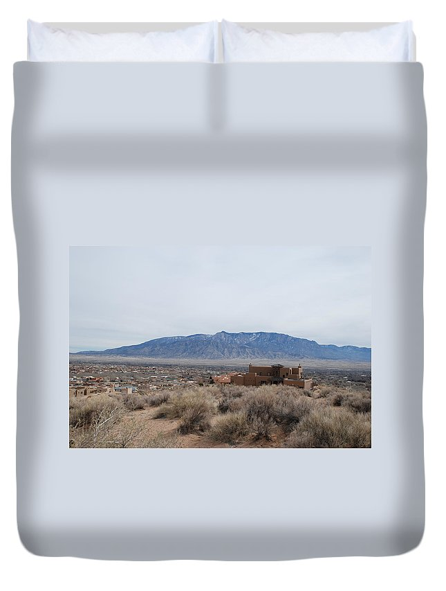 Mountians Duvet Cover featuring the photograph Shoulda Coulda Woulda by Rob Hans