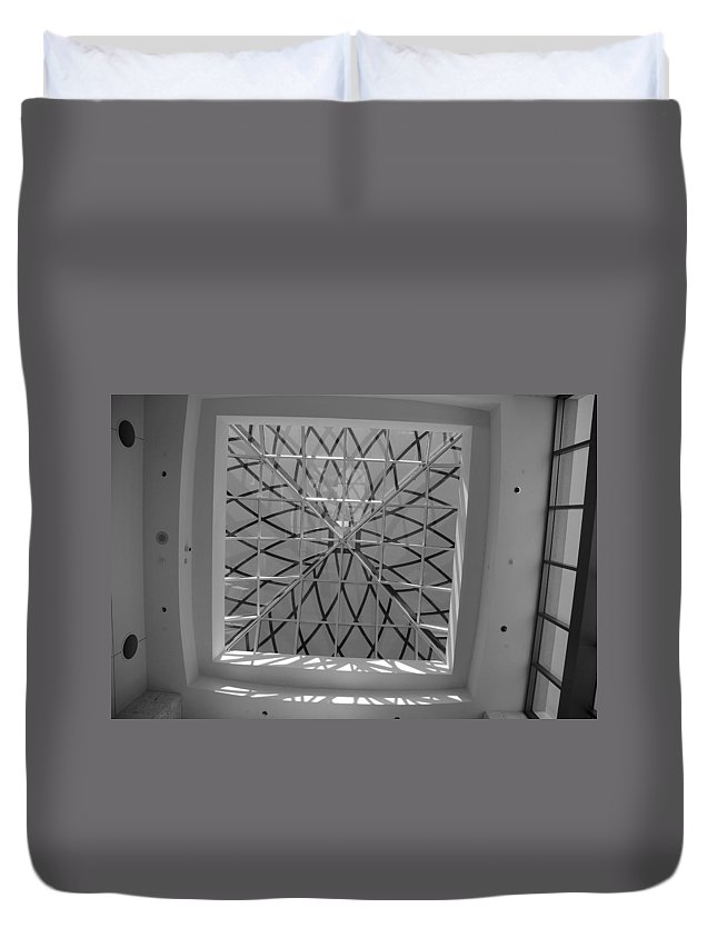Sky Light Duvet Cover featuring the photograph Sky Light by Rob Hans
