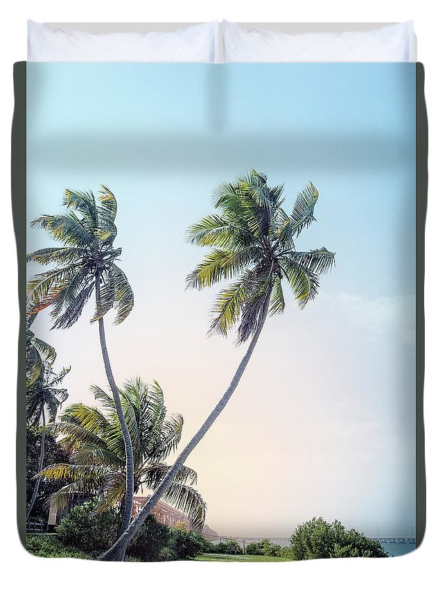 Kremsdorf Duvet Cover featuring the photograph Slice Of Paradise by Evelina Kremsdorf