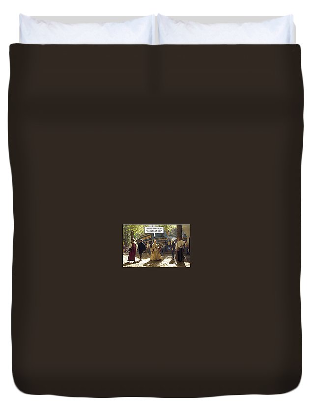 2d Duvet Cover featuring the photograph Smoking Or Non by Brian Wallace