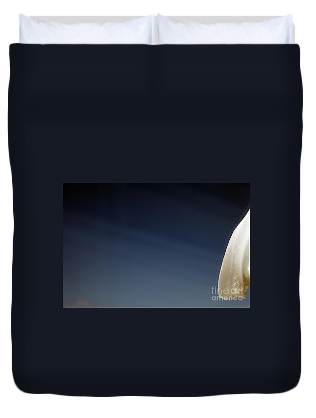 Snow Duvet Cover featuring the photograph Snow Day by Amanda Barcon