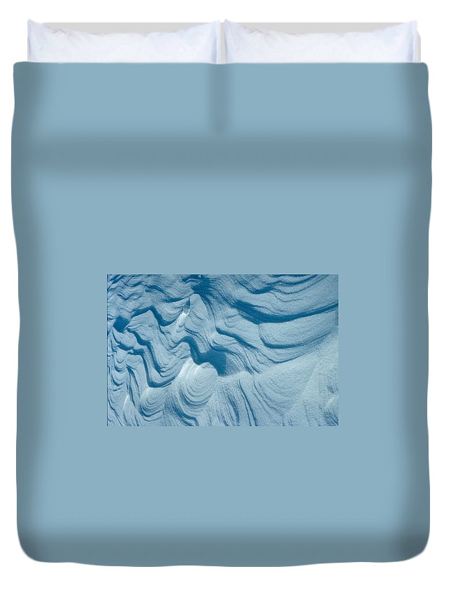 Snow Duvet Cover featuring the photograph Snow by Flavia Westerwelle