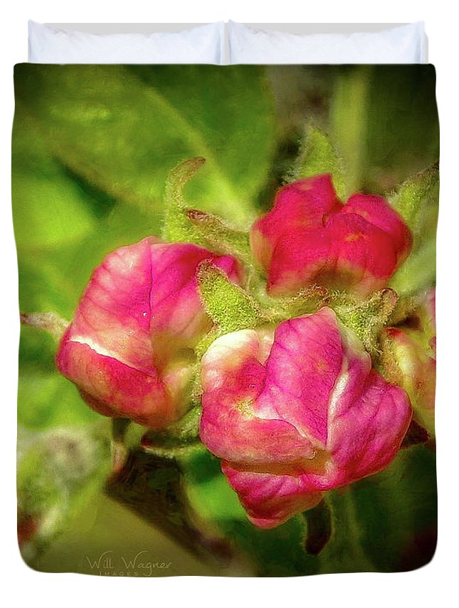 Flower Duvet Cover featuring the photograph Soft And Soothing 2 by Will Wagner