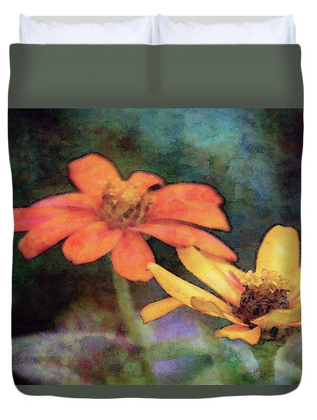 Soft Petals Duvet Cover featuring the photograph Soft Petals 3058 Idp_2 by Steven Ward