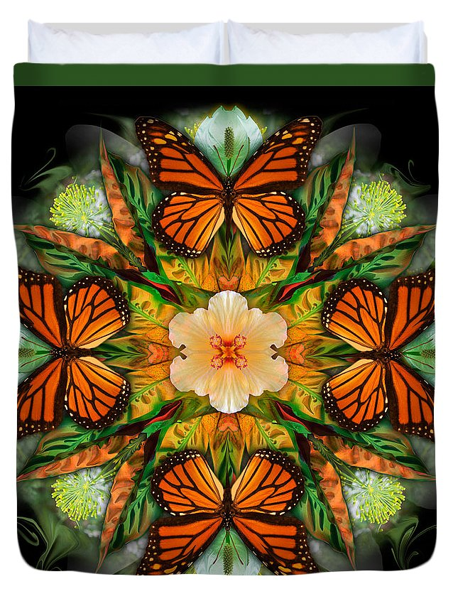 Botanical Duvet Cover featuring the photograph Sojourn by Bruce Robert Frank