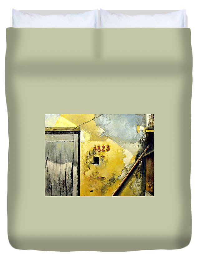 Havana Duvet Cover featuring the painting Solana by Tomas Castano