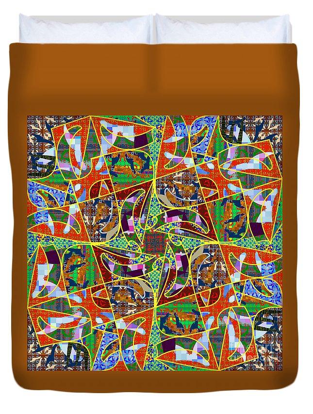 Mkatz Duvet Cover featuring the digital art Some Harmonies And Tones 90 by MKatz Brandt