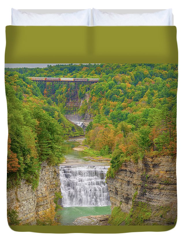State Parks Duvet Cover featuring the photograph Songs Of The Earth by Angelo Marcialis Melody Of Light Photography