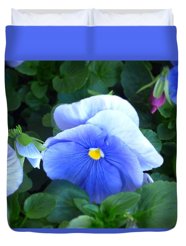 Paul Stanner Duvet Cover featuring the photograph Sounds Of Summer by Paul Stanner