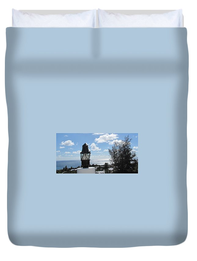 Bermuda Duvet Cover featuring the photograph South Shore Bermuda by Ian MacDonald