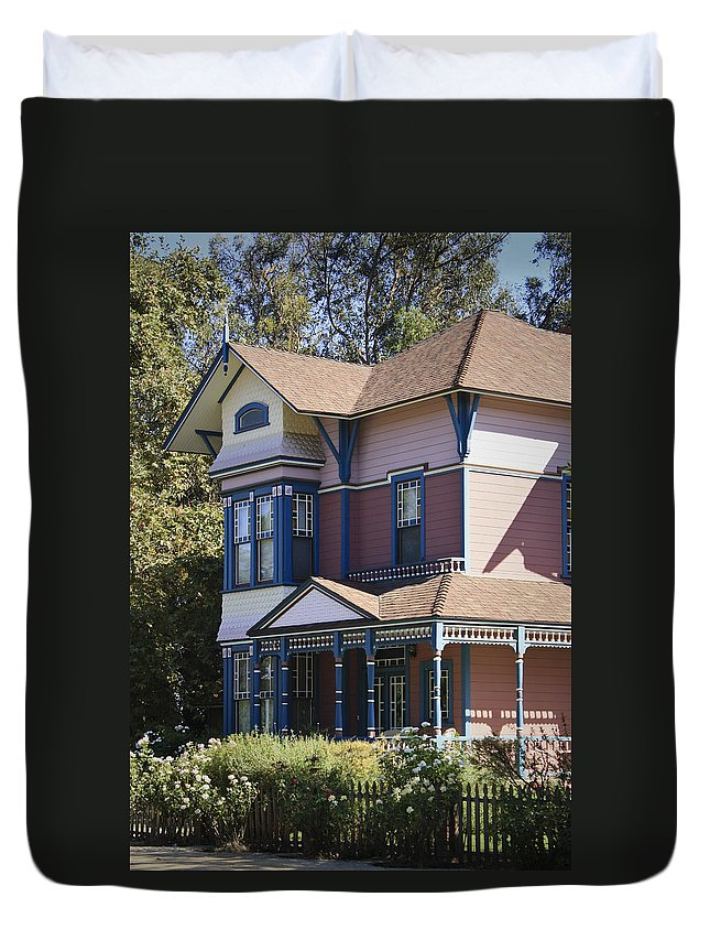 California Duvet Cover featuring the photograph Southern California Painted Lady by Teresa Mucha