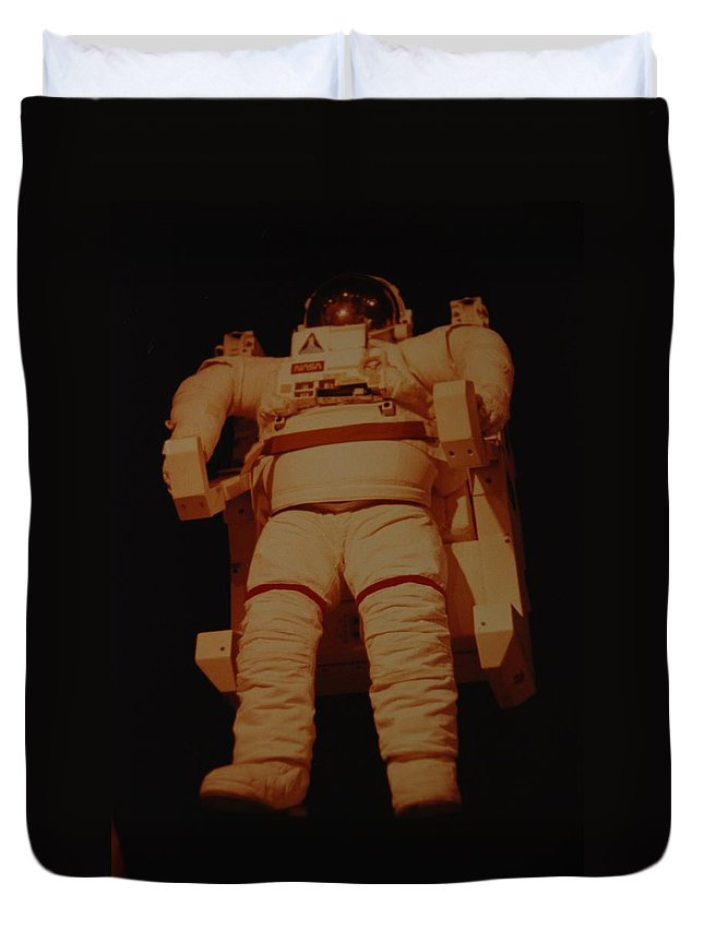 Nasa Duvet Cover featuring the photograph Space Suit by Rob Hans