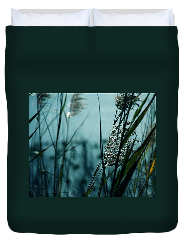 Sparkling Duvet Cover featuring the photograph Sparkling Lights by Susanne Van Hulst