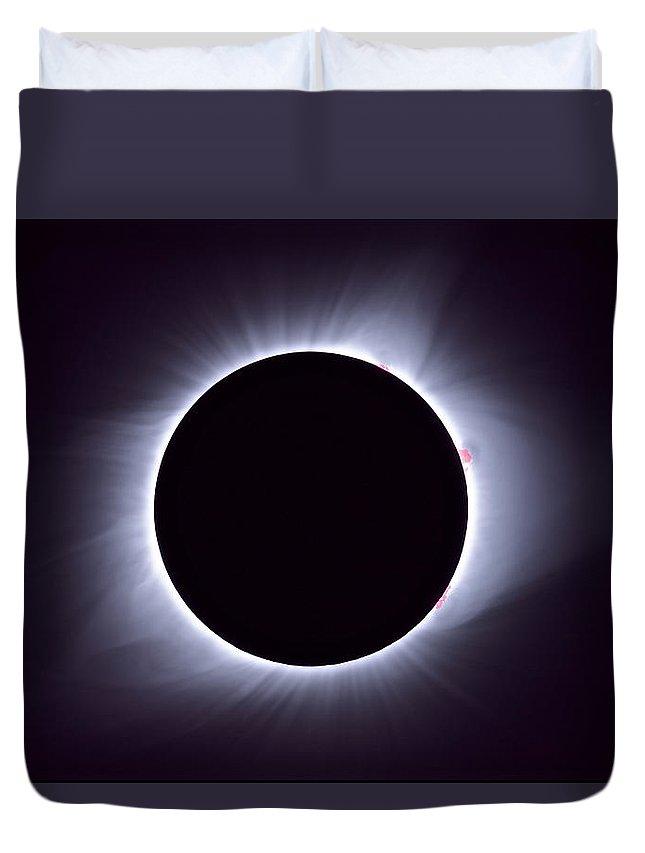 Total Solar Eclipse Duvet Covers