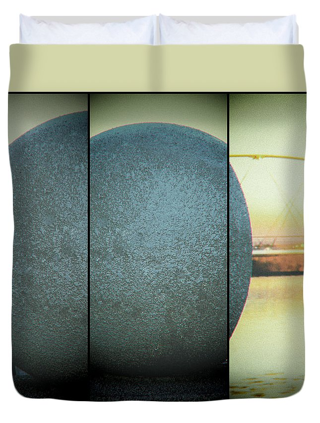 Sphere Duvet Cover featuring the photograph Sphere by Marit Runyon