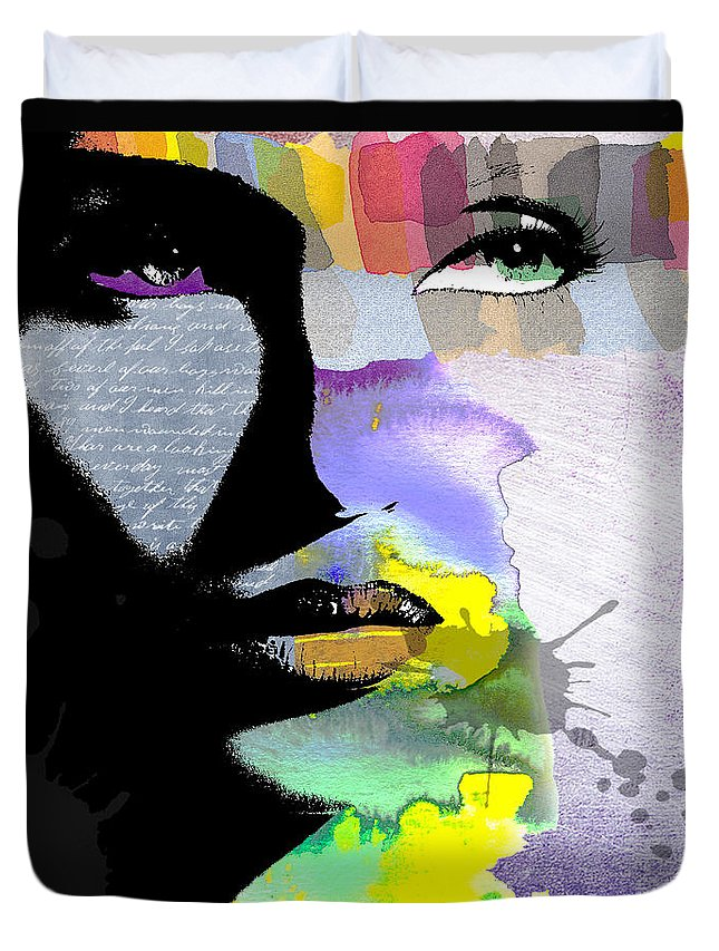 Vivid Colors Digital Art Duvet Covers