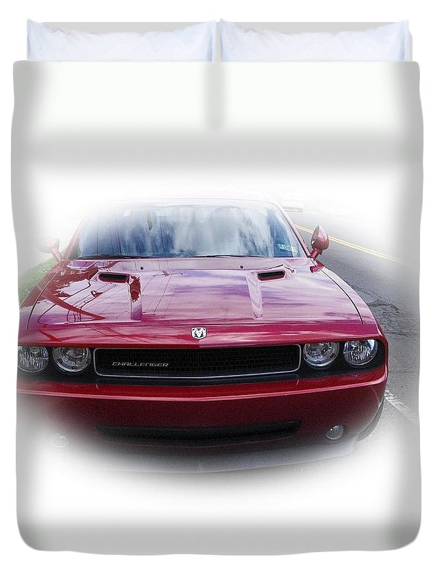 Duvet Cover featuring the photograph Sport Car by Gerald Kloss