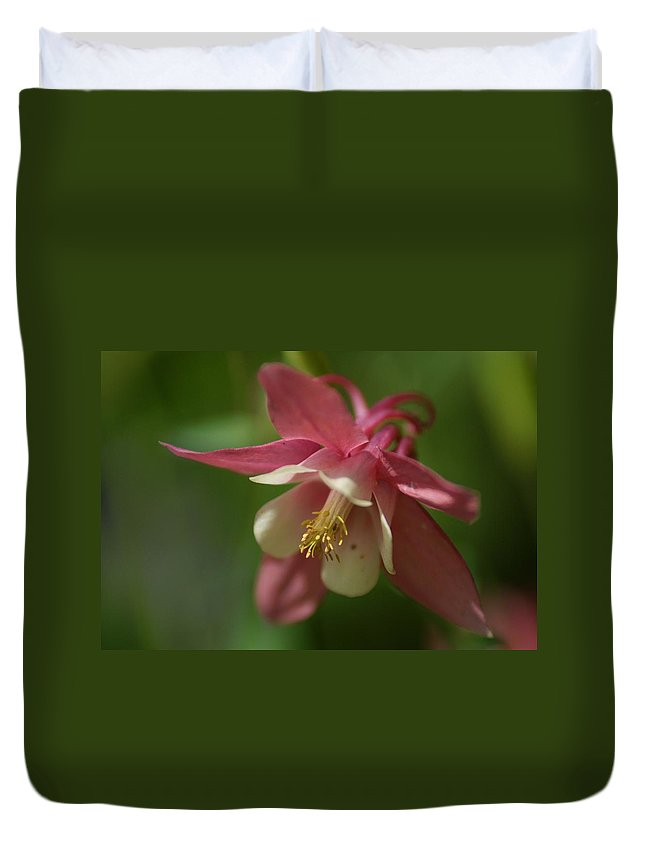 Flower Duvet Cover featuring the photograph Spring 1 by Alex Grichenko