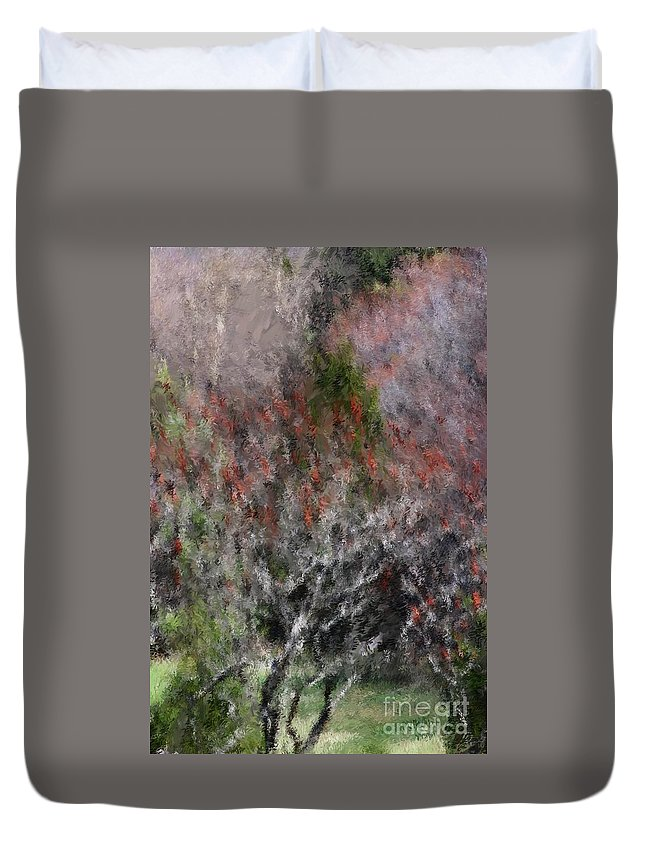 Spring Duvet Cover featuring the photograph Spring At The Hacienda by David Lane