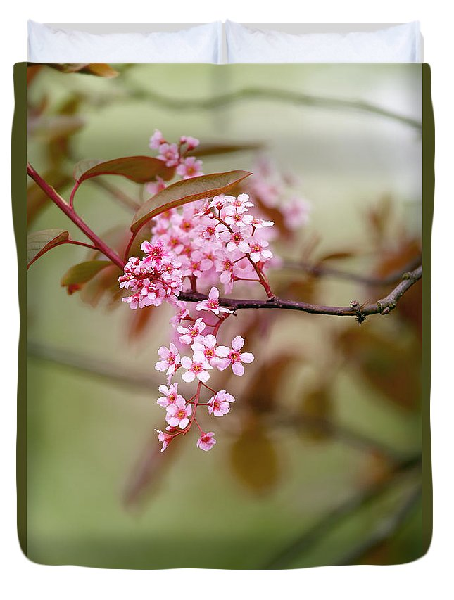 Floral Duvet Cover featuring the photograph Spring Blossom by LHJB Photography