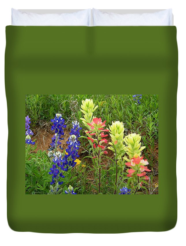 Spring Duvet Cover featuring the photograph Spring Eye Candy by Gale Cochran-Smith