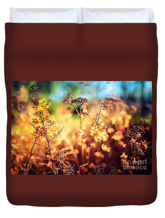 Beautiful Duvet Cover featuring the photograph Spring Is A New Beginning by Ismo Raisanen