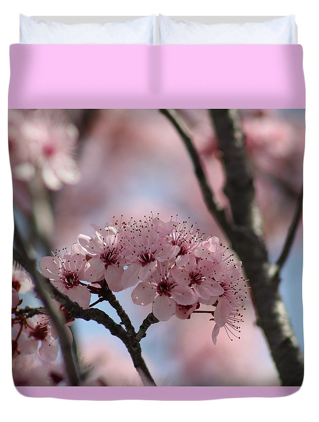 Spring Duvet Cover featuring the photograph Spring On The Air by Sarah Helmy Aly