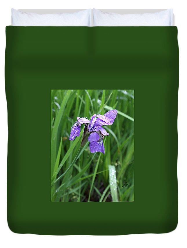 Spring Duvet Cover featuring the photograph Spring Rain by Tina Meador