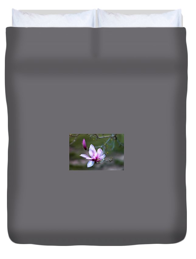 Duvet Cover featuring the photograph Spring's Bloom by Denise Nehila