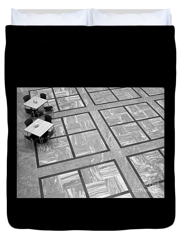 Squares Duvet Cover featuring the photograph Squared by Ann Horn