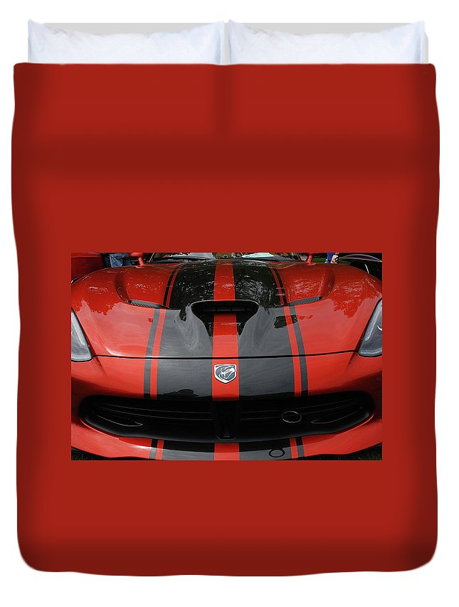 Cars Duvet Cover featuring the photograph Sssss by John Schneider