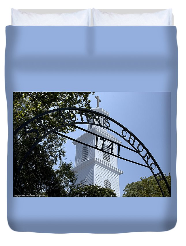 Saint Johns Church Duvet Cover featuring the photograph St Johns Church by Kelvin Booker