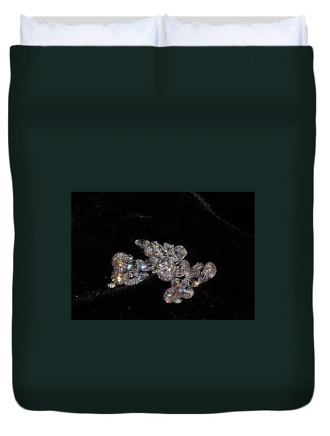 Diamonds Duvet Cover featuring the photograph Stardust by Kristin Elmquist