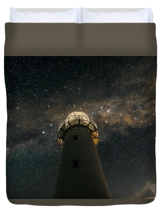 Milky Way Duvet Cover featuring the photograph Stardust by Mike MacKinven