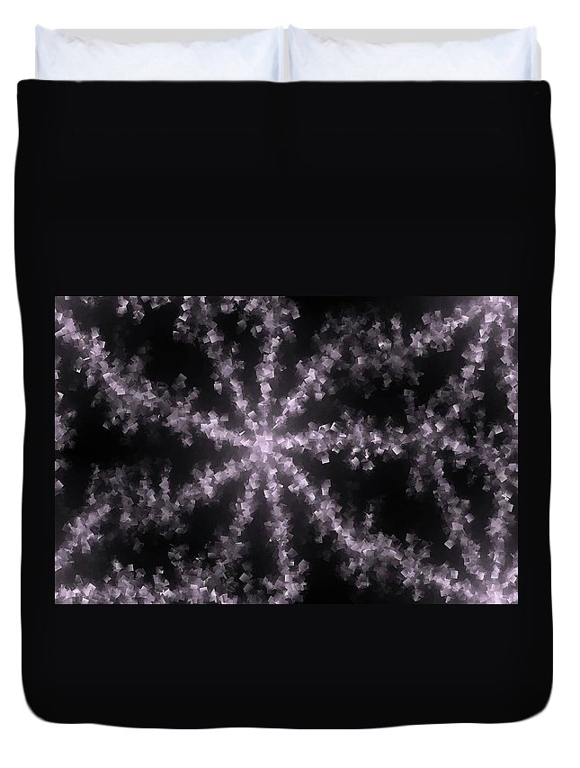 Abstract Duvet Cover featuring the photograph Starfish by Jeff Swan