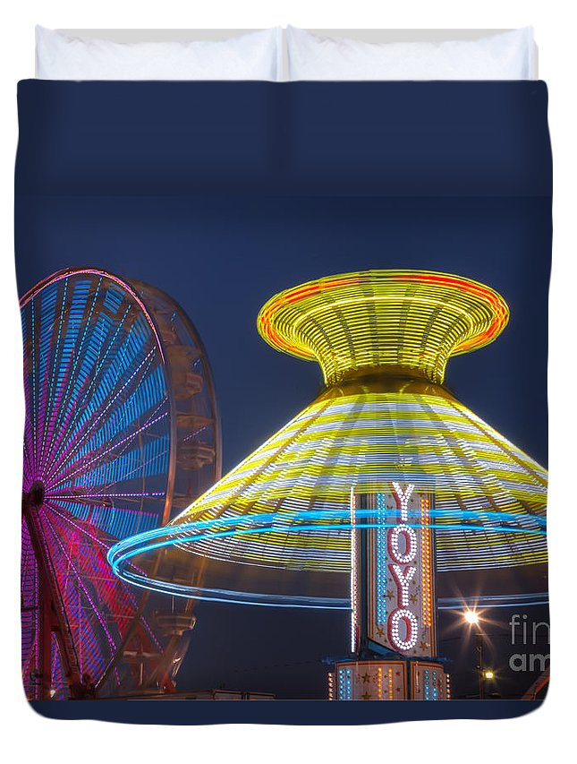Clarence Holmes Duvet Cover featuring the photograph State Fair II by Clarence Holmes
