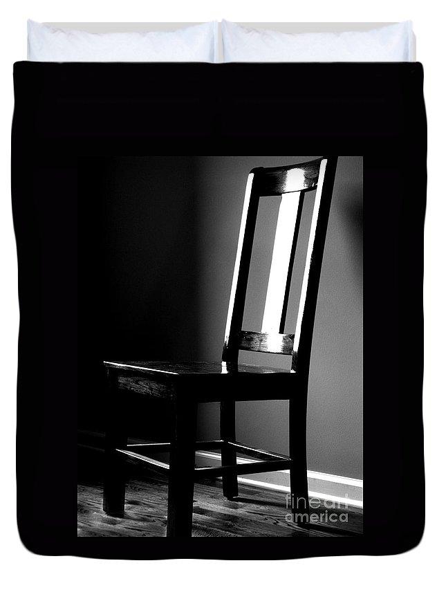 Stillness Duvet Cover featuring the photograph Still by Amanda Barcon