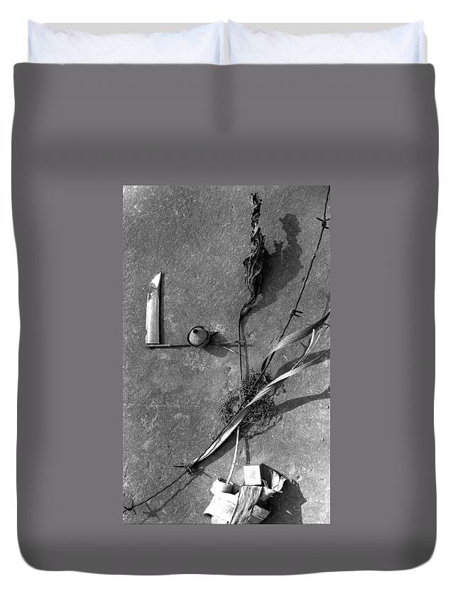 Still Life Duvet Cover featuring the photograph Still Forms by Ted M Tubbs