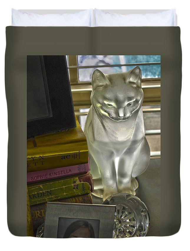 Still Life Duvet Cover featuring the photograph Still Life Nine by Stephen Anderson