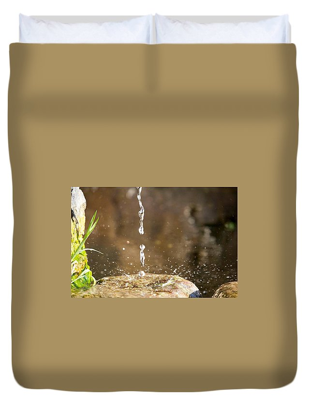 Duvet Cover featuring the photograph Still Time by Giacomo Maiorano