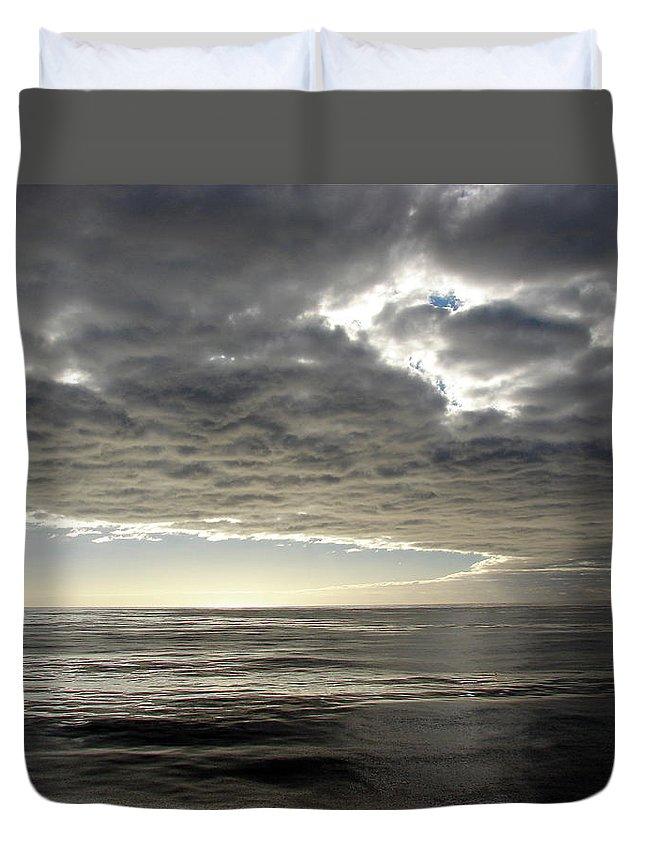 Straits Of Magellan Duvet Cover featuring the photograph Straits Of Magellan I by Brett Winn