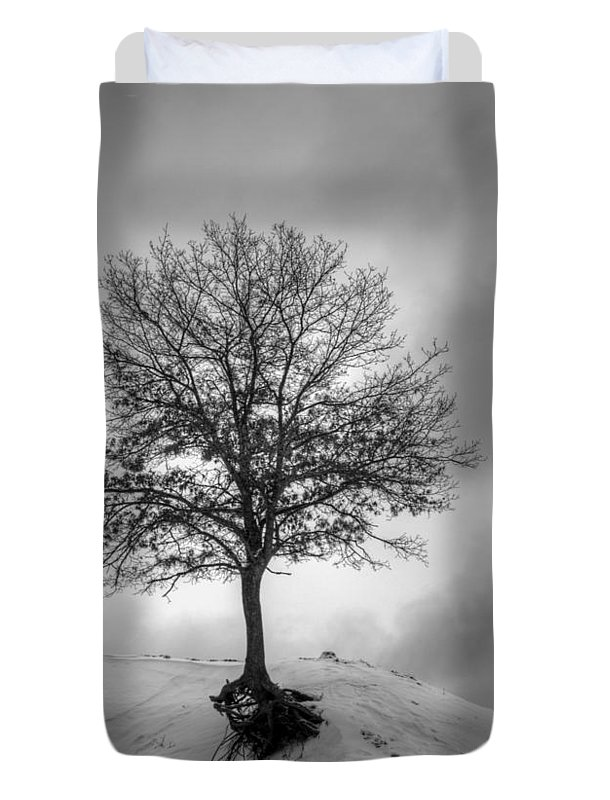Tree Duvet Cover featuring the photograph Strength And Hope 2011 by Thomas Young